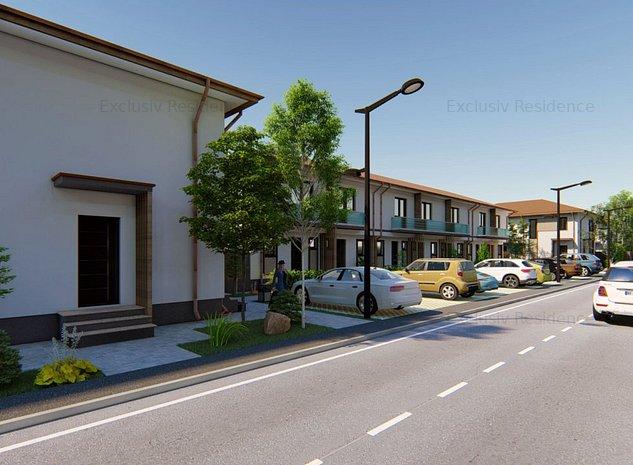 Casa de colt 3 camere 2 bai curte 56mp Cartierul Latin - imaginea 1