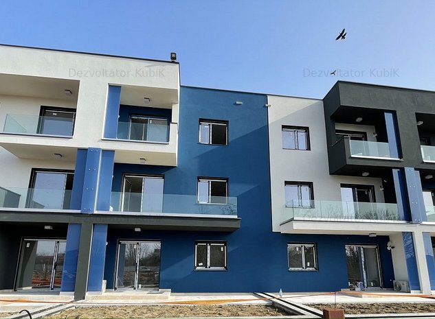 OFERTA EXCLUSIVA!Ultimul apartamente in KubiK 2-cu 3 camere, et.1,vedere pe colt - imaginea 1