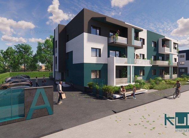 KubiK-ultimul apartament cu 2 camere la parter. La 10 min de P.UNIRII - imaginea 1