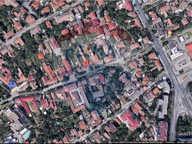 2135 mp, front stradal generos, situat in zona exclusivista - imaginea 1