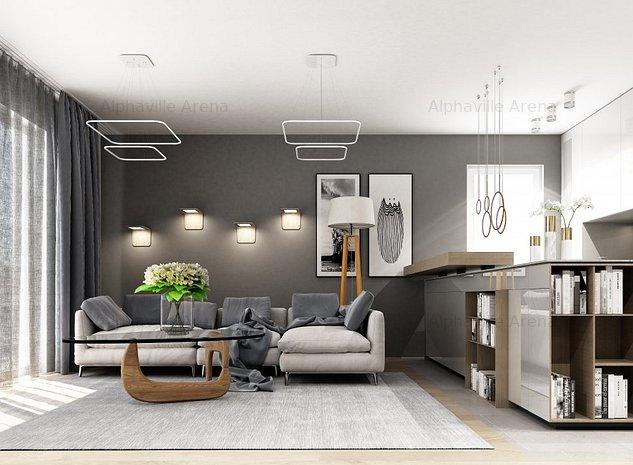Apartament 2 camere Alphaville Arena - imaginea 1