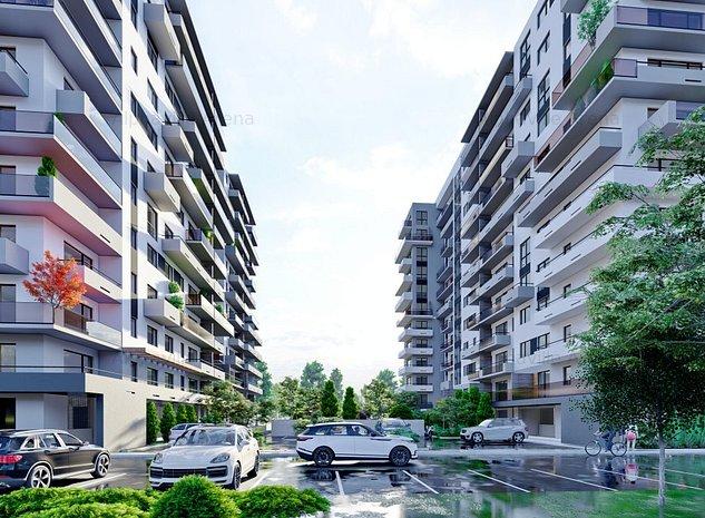 ALPHAVILLE ARENA 5 - Apartament 2 camere - FINALIZARE IULIE 2022 - imaginea 1