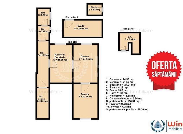 Locatie premium! Apartament cu 3 camere in Piata Unirii - Ultracentral - imaginea 1