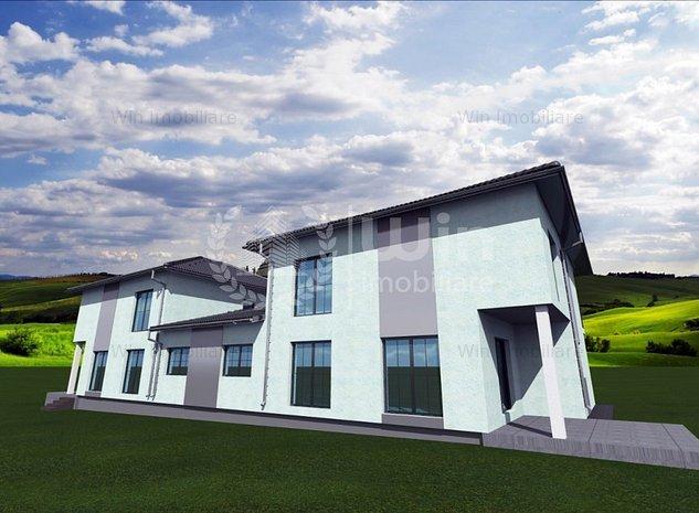Casa cu panorama superba | Teren 500 mp | Garaj | Zona Feleacu - imaginea 1