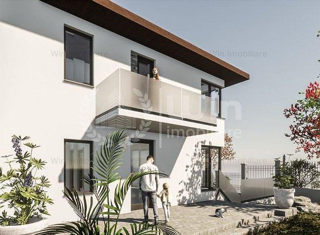 Proiect nou! Duplex cu 4 camere | 2 garaje | Zona strazii Campului! - imaginea 1