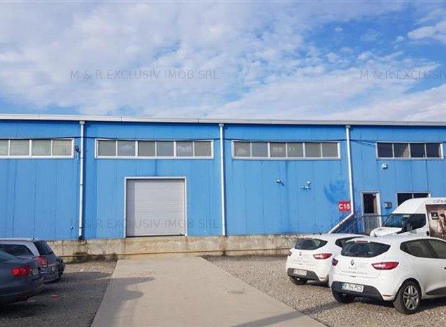 Spatiu industrial zona Giurgiului -Gara Progresul - imaginea 1