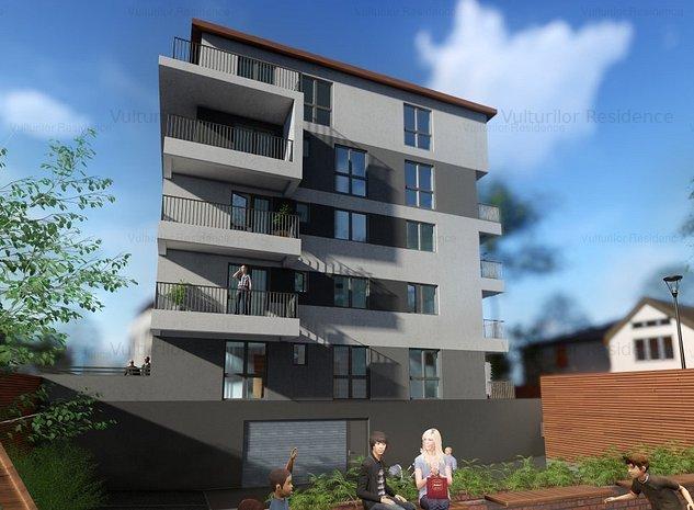 3 camere cu terasă & grădină - Vulturilor Residence. Acasă, în inima capitalei - imaginea 1