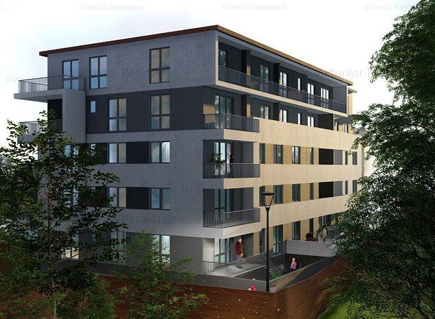4 camere cu terasă & grădină  - Vulturilor Residence. Acasă, în inima capitalei  - imaginea 1