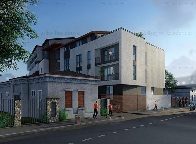 3 camere cu terasă&gr;ădină - Vulturilor Residence. Acasă, în inima capitalei. - imaginea 1