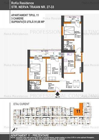 TIMPURI NOI METROU, 3 CAMERE INSORITE, 92 MP, ET. 2-10/12 - imaginea 1
