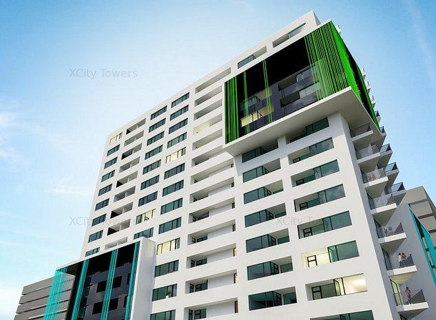 Apartament perfect pentru familie în XCity Towers: 3 camere, 2 băi, 2 balcoane - imaginea 1