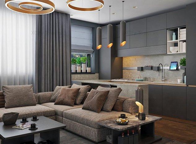 Apartament SUPERB cu 3 camere și vedere pe 2 laturi - mutare în 2020 - imaginea 1