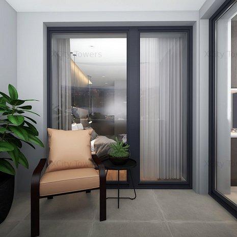 Cool & Super View: 2 camere: living generos, dormitor + logie în XCity Towers - imaginea 1