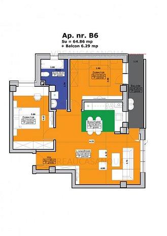 TIMISOARA - Apartamente de 3 camere in imobil Cehov VREAUCASANOUA - imaginea 1