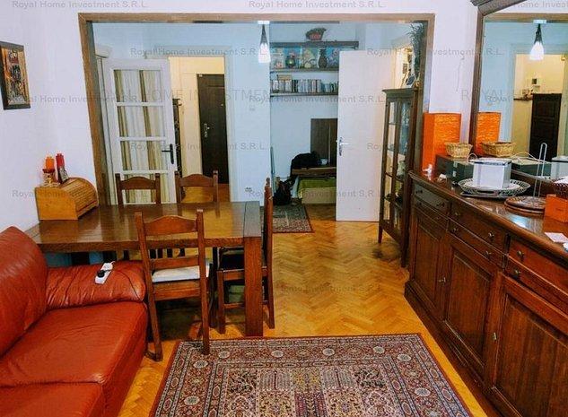 Apartament Impecabil 3 Camere   Finisat   Balcon   Investitie   Romana - imaginea 1