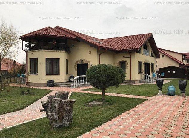 NOU | Casa Individuala Impecabila | 7 Camere | Zona Ciofliceni-Snagov - imaginea 1