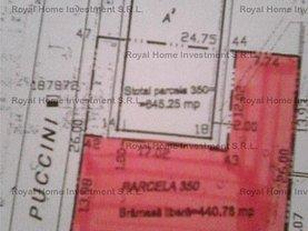 Teren constructii de vânzare, în Bucuresti, zona Floreasca