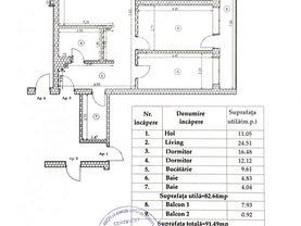 Apartament de vânzare 3 camere, în Bucureşti, zona Foişorul de Foc