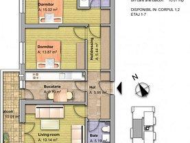 Apartament de vânzare 3 camere, în Dobroeşti