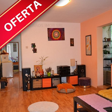 Apartament 3 camere, 4 minute metrou Gorjului, Lujerului Veteranilor, mobilat - imaginea 1