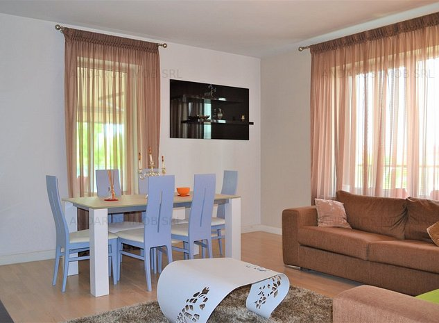Apartament 3 camere Vacaresti, Asmita, mobilat, terasa 85 mp - imaginea 1