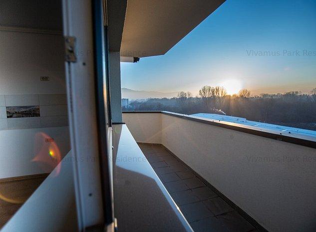 Apartament 3 camere, 61mp+21mp balcon, bloc nou, finalizat, intabulat, Brasov - imaginea 1