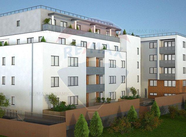 Apartament NOU 2 Camere + Terasa de vanzare - Piata Avram Iancu - imaginea 1