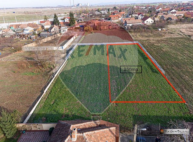Teren 950mp Arad / Strada Sulfinei - imaginea 1