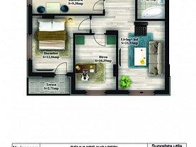 Apartament de vânzare 3 camere, în Chiajna