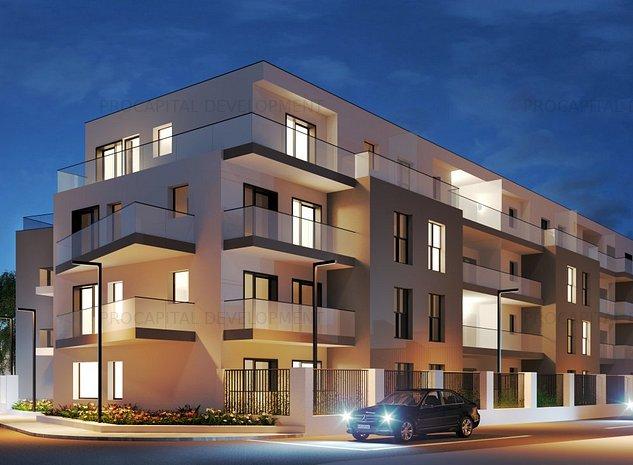 Piata Muncii-Calea Calarasilor bloc nou,apartament cu gradina - imaginea 1