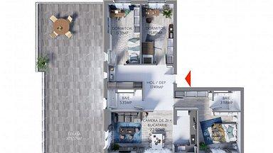 Apartament de vânzare 4 camere, în Constanta, zona Tomis Plus