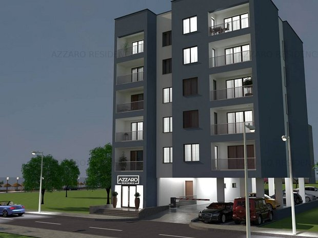 Apartament 2 camere,vedere laterala la mare#Dezvoltator#Azzaro-Residence - imaginea 1