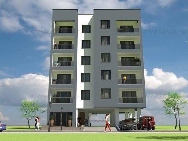 Apartament 2 camere decomandat#MamaiaNord#Azzaro-Residence - imaginea 2