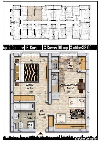 Apartamente si garsoniere zona Metro Militari - imaginea 1