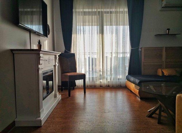 Apartament 2 camere, Plaza Residence, 550 Euro - imaginea 1