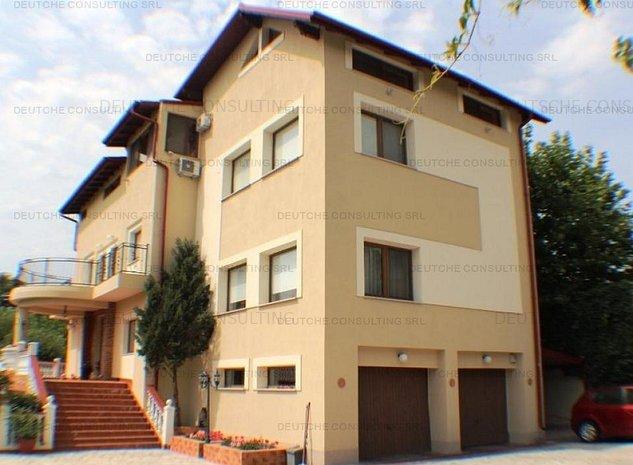 Casa Vila 11 camere Baneasa - imaginea 1
