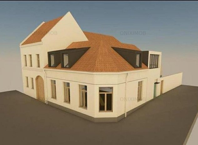 Corp de casa separt complet cu 3 camere in Centrul Istoric - imaginea 1