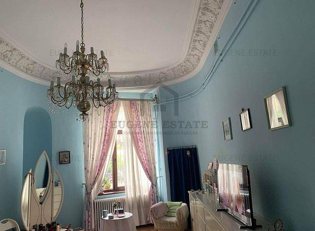 Apartament spectaculos in vila istorica renovata cu elemente originale - imaginea 1