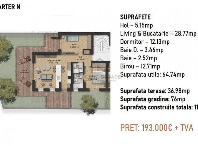 Apartament 3 camere CP1037175 - imaginea 1