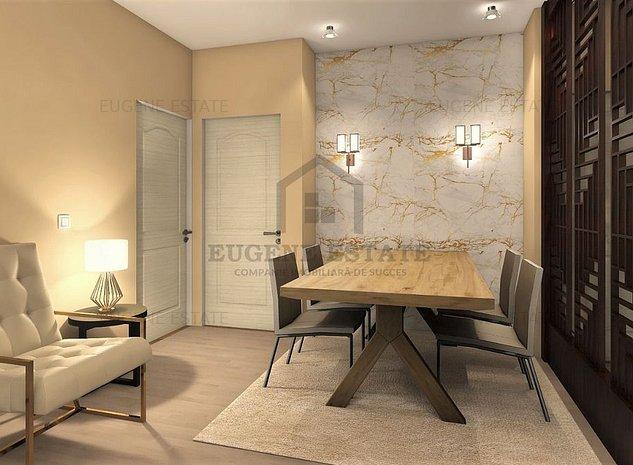 Apartament 3 camere  - zona Straulesti - imaginea 1