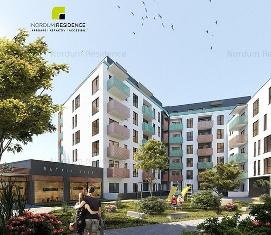 Apartament 1 camera cu nisa, ansamblu rezidential Marasti - imaginea 1