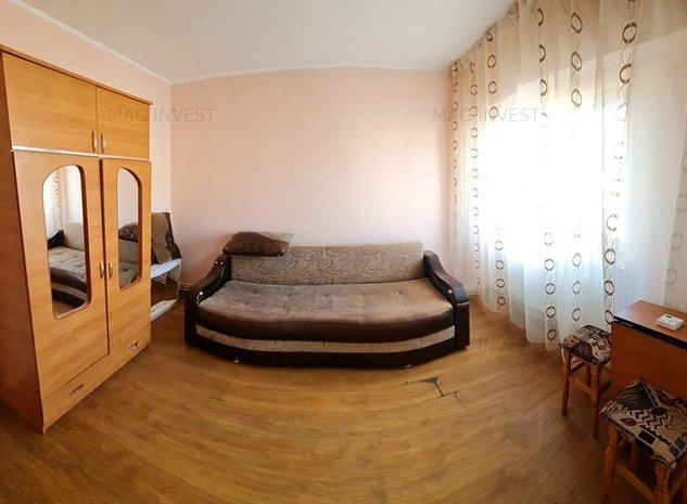 Apartament cu o camera, partial mobilat, centrala termica - IC Frimu - imaginea 1
