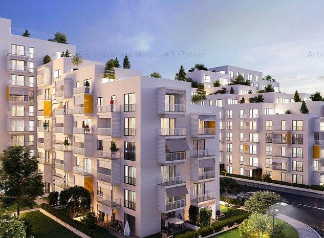 Arbo Residence Mogosoaia, Apartament cu 2 camere + terasa proprie   - imaginea 1