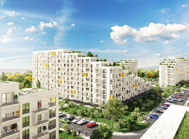 Arbo Residence Mogosoaia Apartament cu 2 camere si gradina proprie - imaginea 1