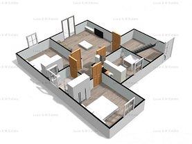 Apartament de vânzare 2 camere, în Giarmata-Vii