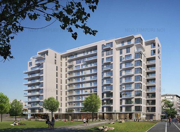 Apartament de vanzare 2 camere - Ansamblu Rezidential Nou NEO TIMPURI NOI - imaginea 1