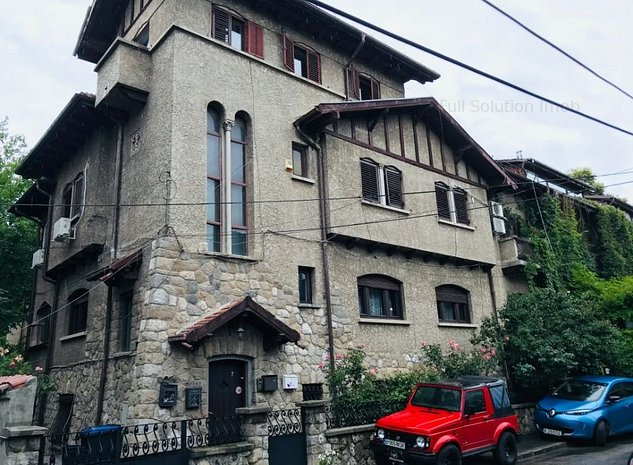 Floreasca, Spatiu comercial de inchiriat in vila interbelica - imaginea 1