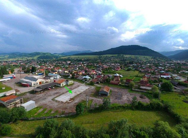 Teren intravilan 10.000 mp Câmpulung Moldovenesc Bucovina - imaginea 1