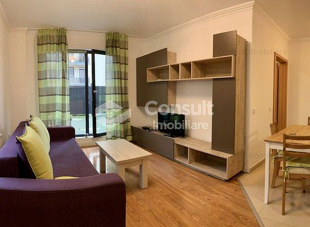 Apartament cu 2 camere si terasa, in Borhanci - imaginea 1