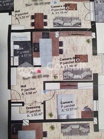Apartament cu 2 camere | etajul 2 | zona Traian Vuia - imaginea 1